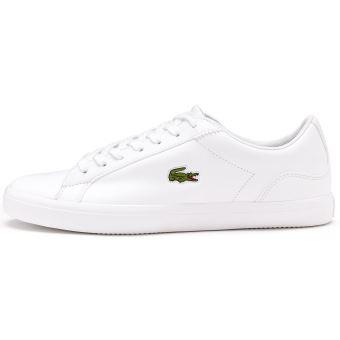 Sport 1 Chaussures De 733cam1032 Blanc Lerond Bl Cam Cuir Lacoste En WEDIH2Y9