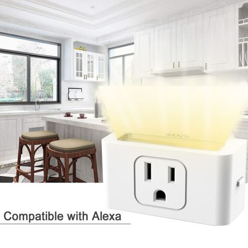 Smart WiFi Prise d'alimentation US Plug commutateur pour Amazon Alexa / Accueil Google App contrôle