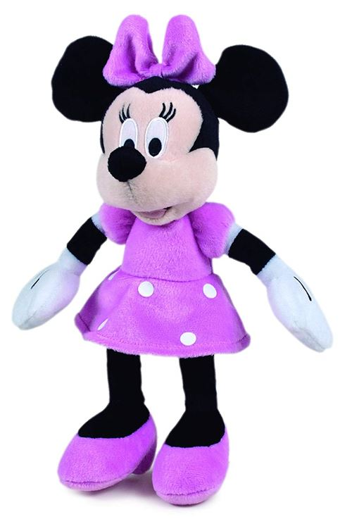 Minnie mouse – Peluche, couleur ROSE (Famosa 760011895)