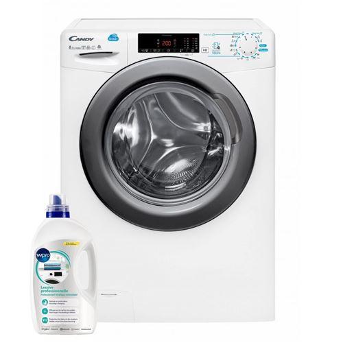 lavante séchante candy gp--csws485tdr5s 52 blanc fonction vapeur : lancée en fin de cycle, la vapeur permet de réduire le nombre de plis et donc le temps de repassage. elle renforce aussi l'hygiène des textiles et retire les mauvaises odeurs.