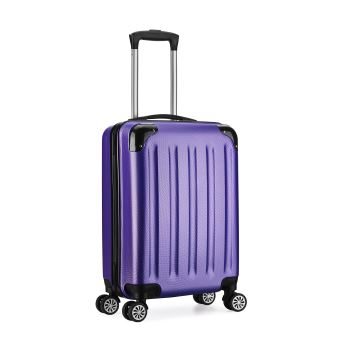 valise trolley cabine 55cm bagage a main abs 4 roues. Black Bedroom Furniture Sets. Home Design Ideas
