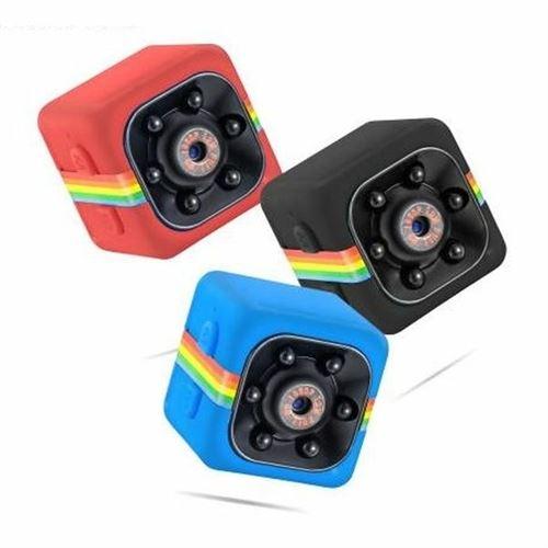 Mini camera espion Full HD 1080P à infrarouge carré