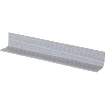 Plinthe Pliable Pvc Décor Frêne Gris Flexible Adhésive 25 Mètres