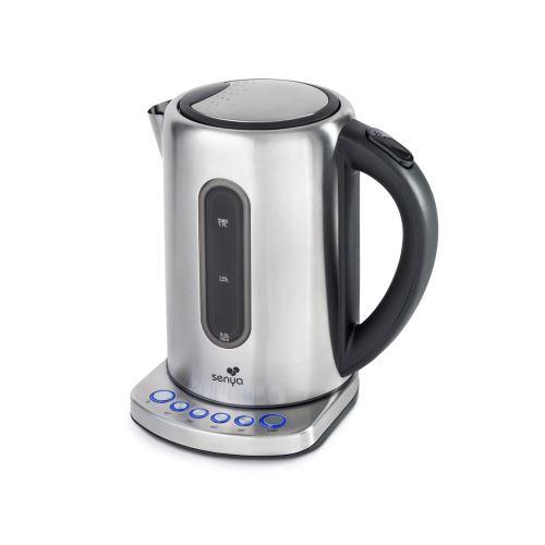 Senya Bouilloire Électrique Inox Température Réglable Tea