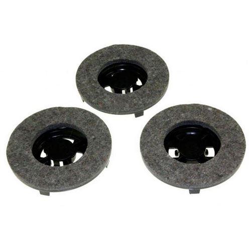 Jeu de 3 disques feutre Chambord Z5 LC500C Simac FL8500 (47687-43839) Cireuse 09502576 HOOVER, DELONGHI, ELECTROLUX, TORNADO, VETRELLA - 47687_3662894211626
