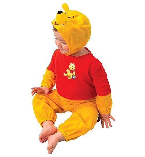 Déguisement winnie the pooh bébé taille 2/3 ans - disney