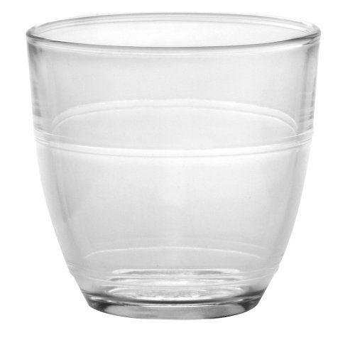 Duralex 1017ac04 boîte de 4 gobelets elet gigogne verre transparent 22 cl