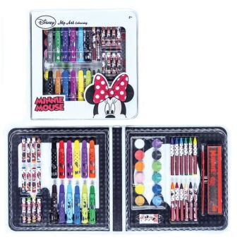 Minnie Mouse Coffret Coloriage Disney 51 Pieces Crayon De