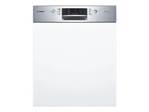 Bosch Serie | 4 SilencePlus SMI46GS01E - Lave-vaisselle - intégrable - Niche - largeur : 60 cm - profondeur : 55 cm - hauteur : 81.5 cm - gris