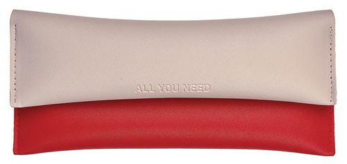 Moses pochette All you need20,5 cm beige/rouge