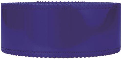 Ruban charlotte dentelle bleu