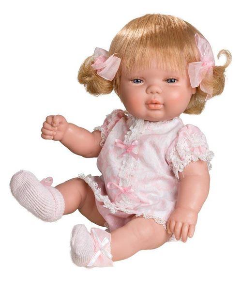 Berjuan – Baby Smile Fille Combinaison Rose,30cm, Multicolore (488)