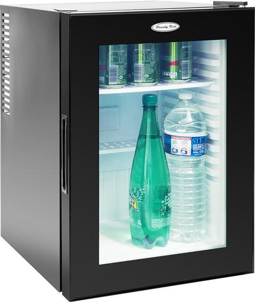 Brandy Best WINDOW400 Mini-bar 35 litres vitré totalement silencieux A+