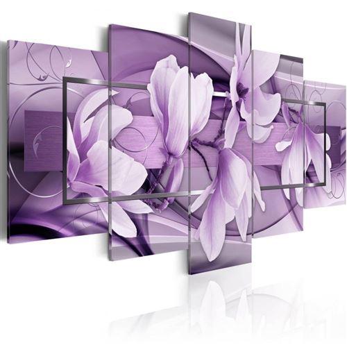 Artgeist - Tableau - Purple Wave 100x50