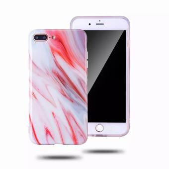 coque iphone 6 marbre rouge