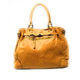 OH MY BAG Sac port/é /épaule Cuir port/é /épaule et main Femmes en v/éritable cuir fabriqu/é en Italie mod/èle LOVE