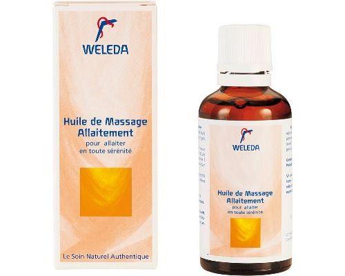 Huile de Massage Allaitement WELEDA