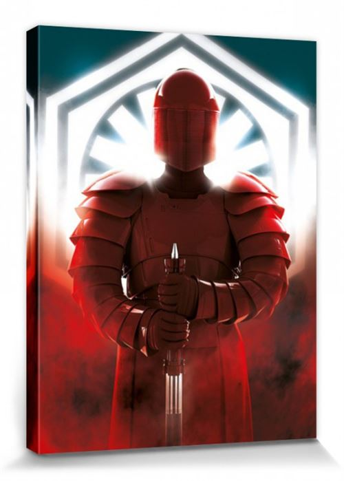 Star Wars Poster Reproduction Sur Toile, Tendue Sur Châssis - Épisode VIII, Les Derniers Jedi Elite Guard Defend (80x60 cm)