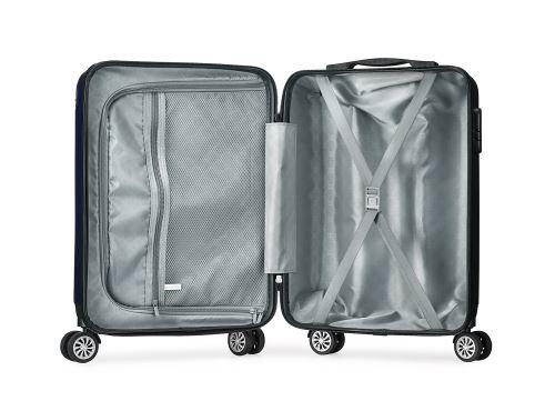 site réputé 64b51 15b7e Valise cabine 55cm bagage a main ABS 4 roues rigide ultra ...