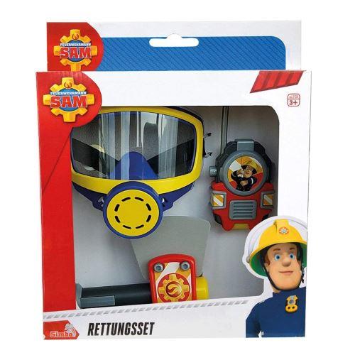 Simba Toys 109252235 - Le pompier SAM Masque à oxygène