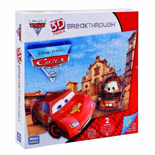 Megabloks - 50671eag - 4 - puzzle - breakthrough - cars - niveau 2