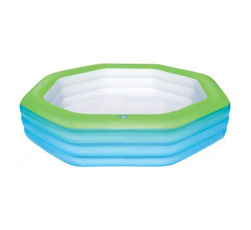 Piscine Gonflable Bestway Deluxe Octagon Family pour enfants 250x250x51 cm - 54119 - BESTWAY