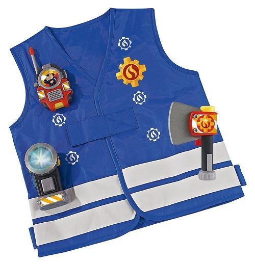 Sam le pompier - kit de pompier déguisement accessoires 3 ans+