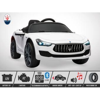 Voiture Ghibli Maserati 50w Kingtoys Électrique Enfant Blanc yvm8wn0ON