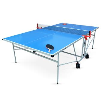 30 Sur Table De Ping Pong Outdoor Bleue Table Pliable Avec 2