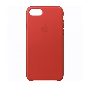 coque iphone 7 cuir rouge