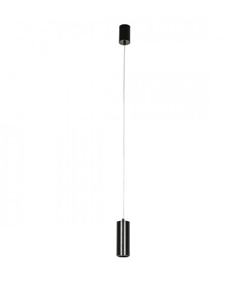 Suspension technique et moderne Moldes Medium BL Pendant 3000K Noir