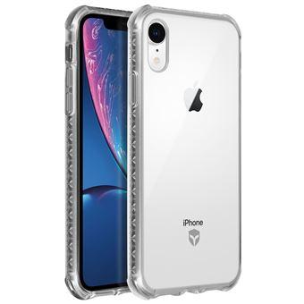 Coque iPhone XR Renforcée Silicone Gel Antichocs Force Case Air - Transparent