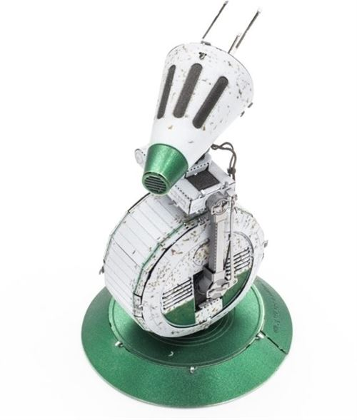 Metal Earth kit de construction Star Wars D-O argent/vert