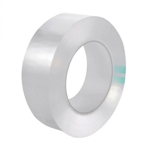 SHOP-STORY - Ruban Adhésif étanche transparent pour joints de cuisine et salle de bain - Longueur 3m - Largeur 3cm