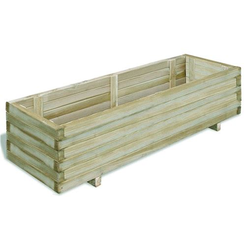 chunhe Lit surélevé 120 x 40 x 30 cm Bois Rectangulaire AB41661