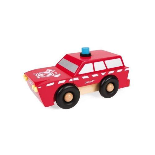 JANOD Kit magnétique SUV Pompiers 9 pieces