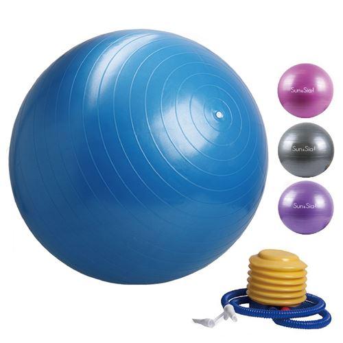 TownCat Ballon dexercice Ballon de Yoga Extra /épais (65cm) Ballon de Fitness Yoga /& Pilates Bureau de Ballon Assis Ballon d/équilibre avec Pompe /à air