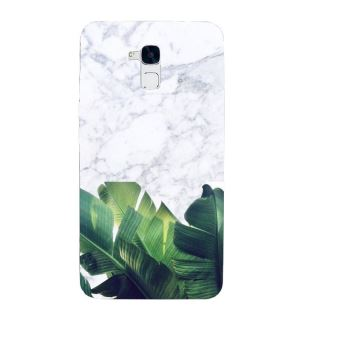coque huawei honor 5c marbre