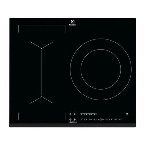 Electrolux LIV633 - Table de cuisson à induction - 3 plaques de cuisson - Niche - largeur : 56 cm - profondeur : 49 cm - noir - avec avant biseauté - noir