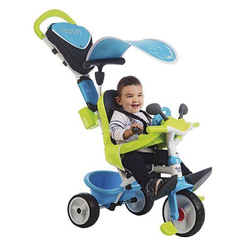 Tricycle Smoby Baby Driver Confort 2 Bleu - Tricycle. Achat et vente de jouets, jeux de société, produits de puériculture. Découvrez les Univers Playmobil, Légo, FisherPrice, Vtech ainsi que les grandes marques de puériculture : Chicco, Bébé Confort, Mac