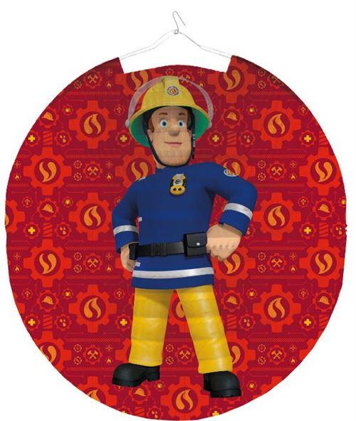 Amscan pompier lampion Sam 25 cm papier