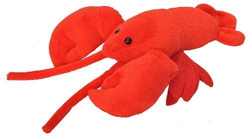 Wild Republic 18049 Homard Peluche Peluches Cuddlekins Peluche Jouets, Cadeaux pour Enfants 30 cm, Rouge