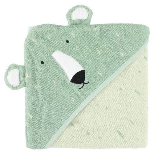 Trixie serviette de bain Mr. Polar Bear75 x 75 cm coton bio vert