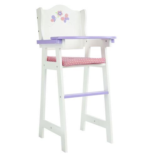 Olivias mobilier chaise haute poupon poupée jeux d'imitation jouet TD-0098A