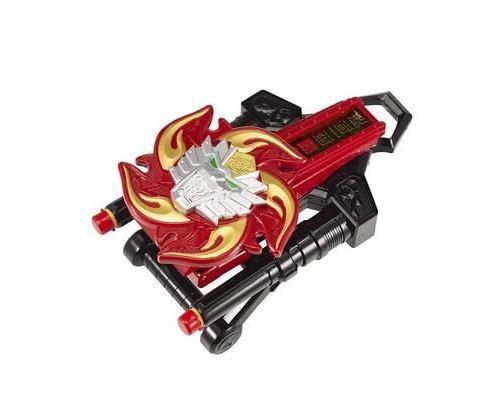 Power Rangers 43900 Super Ninja Steel Figurine Morpher en feu de lion