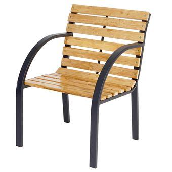 Chaise de jardin Granada II, chaise en bois dur d\'eucalyptus avec ...