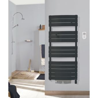 Radiateur sèche-serviettes - Riviera Digital - 500+1000 W - Avec ...