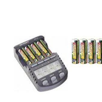 Chargeur pour piles rondes NiCd, NiMH avec accus VOLTCRAFT IPC 1L