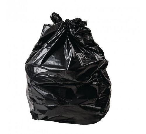 Sacs poubelle noirs Jantex lot de 500 - Polyéthylène 3200 cl