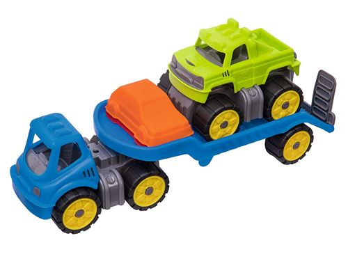 Big 800055809 – Power Worker Mini Monster Truck Set de véhicule pour enfant
